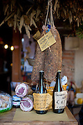 Dried Meat and Prosecco, Asolo, Italy