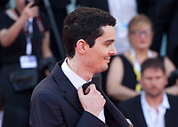 director Damien Chazelle at the First Man Premiere, Opening Ceremony and Lifetime Achievement Award To Vanessa Redgrave at the 75th Venice Film Festival, Sala Grande on Wednesday 29th August 2018, Venice Lido, Italy.
