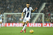 West Bromwich Albion defender Kieran Gibbs (3) sprints forward with the ball during the EFL Sky Bet Championship match between West Bromwich Albion and Sheffield United at The Hawthorns, West Bromwich, England on 23 February 2019.