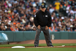 SAN FRANCISCO, CA - JUNE 24:  MLB umpire Fieldin Culbreth #25 stands on the field during the third inning between the San Francisco Giants and the San Diego Padres at AT&T Park on June 24, 2015 in San Francisco, California.  The San Francisco Giants defeated the San Diego Padres 6-0. (Photo by Jason O. Watson/Getty Images) *** Local Caption *** Fieldin Culbreth