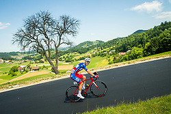 David Per (SLO) of Adria Mobil during 2nd Stage of 26th Tour of Slovenia 2019 cycling race between Maribor and  Celje (146,3 km), on June 20, 2019 in Celje, Maribor, Slovenia. Photo by Vid Ponikvar / Sportida