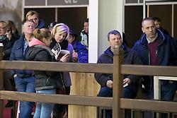 De Brabander Joris, Rooms Ann, Voorstelling op harde bodem <br /> Hengsten keuring BWP - Koningshooikt 2017<br /> © Dirk Caremans<br /> 27/12/2016