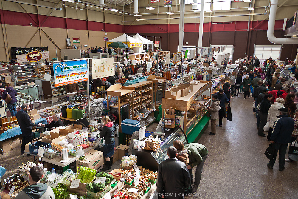 Kitchener farmers' market, Kitchener, Ontario.