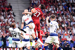 June 1, 2019 - Madrid, Spagna - Foto Alfredo Falcone - LaPresse.01/06/2019 Madrid ( Spagna).Sport Calcio.Liverpool - Tottenham.Finale Uefa Champions League 2018 2019 - Stadio Wanda Metropolitano di Madrid.Nella foto: Divock Origi of LiverpoolPhoto Alfredo Falcone - LaPresse.01/06/2019 Madrid (spain).Sport Soccer.Liverpool - Tottenham.Final Uefa Champions League  2018 2019 - Wanda Metropolitano Stadium of Madrid.In the pic: Divock Origi of Liverpool (Credit Image: © Alfredo Falcone/Lapresse via ZUMA Press)