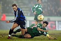 Fotball - Belgisk liga 2002/2003 <br /> 21.12.2002<br /> Bengt Sæternes - Brugge<br /> Carl Hoefkens - Lommel<br /> Foto: Eric Lalmand, Digitalsport
