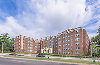 Exterior Image of The Metropolitan Apartmets in Washington DC by Jeffrey Sauers of Commercial Photographics, Architectural Photo Artistry in Washington DC, Virginia to Florida and PA to New England