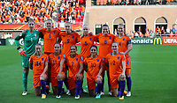 Football - 2017 UEFA Women's European [Euro] Championship - Group A : Netherlands vs. Denmark<br /> <br /> Netherlands team group at Sparta Stadoin , Rotterdam.<br /> <br /> COLORSPORT/LYNNE CAMERON