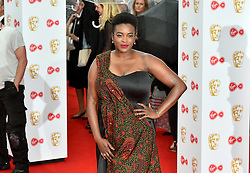 Wunmi Mosaku arriving for the Virgin TV British Academy Television Awards 2017 held at Festival Hall at Southbank Centre, London. PRESS ASSOCIATION Photo. Picture date: Sunday May 14, 2017. See PA story SHOWBIZ Bafta. Photo credit should read: Matt Crossick/PA Wire