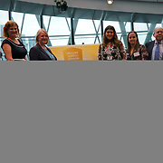 """City Hall, London, Uk, 29th June 2017. Cherry Orchard Primary School, Cardwell Primary School """"Gold Awards"""" of the City Hall awards at the Health and education experts celebrate London's healthiest schools."""
