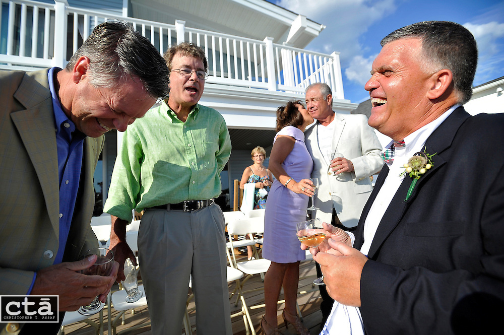 The wedding of Karen Cubbison and Craig Socie. Married June 2, 2012 in Stone Harbor, N.J. (Photo by Christopher T. Assaf/all rights reserved) #148..©2012