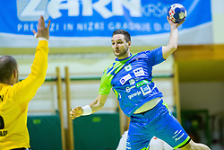 Gasper Marguc of Slovenia during Handball friendly match between Slovenia and Iran, on January 4, 2018 in Dol pri Hrastniku, Dol pri Hrastniku, Slovenia. Photo by Ziga Zupan / Sportida