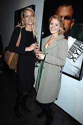 Left to right, ALEX SHAW and EMILY ANDREW at a private view of Octagan a showcase of work of photographer Kevin Lynch featuring the stars of the Ultimate Fighter Championship held at Hamiltons gallery, Mayfair, London on 17th January 2008.<br />