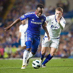 20.04.2011, Stamford Bridge, London, ENG, PL, FC Chelsea vs Birmingham City, im Bild Chelsea's Michael Essien English Premier League, Stamford Bridge, Chelsea v Birmingham City, 20/04/2011. EXPA Pictures © 2011, PhotoCredit: EXPA/ IPS/ Mark Greenwood +++++ ATTENTION - OUT OF ENGLAND/UK and FRANCE/FR +++++