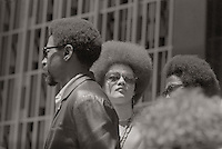 Kathleen Cleaver at Black Panther Rally in San Francisco 1969