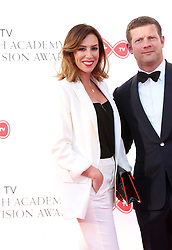 Dermot O'Leary and Dee Koppang attending the Virgin TV British Academy Television Awards 2018 held at the Royal Festival Hall, Southbank Centre, London. PRESS ASSOCIATION Photo. Picture date: Sunday May 13, 2018. See PA story SHOWBIZ Bafta. Photo credit should read: Isabel Infantes/PA Wire