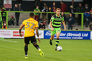 Forest Green Rovers Mark Roberts(21) runs forward during the EFL Trophy match between Forest Green Rovers and Newport County at the New Lawn, Forest Green, United Kingdom on 29 August 2017. Photo by Shane Healey.