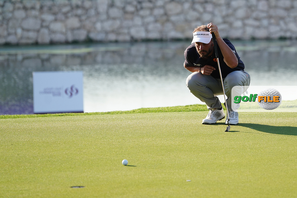 Joost Luiten (NED) on the 18th during Round 2 of the Commercial Bank Qatar Masters 2020 at the Education City Golf Club, Doha, Qatar . 06/03/2020<br /> Picture: Golffile | Thos Caffrey<br /> <br /> <br /> All photo usage must carry mandatory copyright credit (© Golffile | Thos Caffrey)