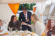 Andrea Vianini; Raymond Blanc; Jodie Kidd, The Veuve Clicquot Gold Cup Final.<br /> Cowdray Park Polo Club, Midhurst, , West Sussex. 15 July 2012.