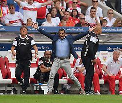 Football: Germany, 1. Bundesliga, VFB STUTTGART - HAMBURGER SV (HSV), Stuttgart - 16.05.2015,<br /> Sportdirektor Robert Dutt (Stuttgart)<br /> <br /> &copy; pixathlon<br /> <br /> +++ NED out !!! +++