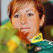NLD/Alphen aan de Rijn/20060308 - Presentatie nieuwe wielerploeg Leontien van Moorsel, AA Drink Cycling team, Corine Hierckens