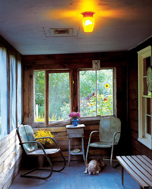 Screened In Porch in Catskill Country Home