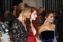 Kimberley Walsh, Nicola Roberts, Cheryl Fernandez-Versini, Girls Aloud, Pride of Britain Awards, Grosvenor House Hotel, London UK. 28 September, Photo by Richard Goldschmidt /LNP © London News Pictures