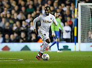 Vurnon Anita of Leeds United during the EFL Sky Bet Championship match between Leeds United and Sheffield Utd at Elland Road, Leeds, England on 27 October 2017. Photo by Paul Thompson.