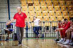 Drazen Anzulovic, head coach of Croatia during friendly basketball match between Slovenia and Croatia , on September 8, 2018 in Arena Zlatorog, Celje, Slovenia. Photo by Ziga Zupan / Sportida