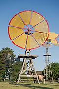 Windmill Park in Shattuck, Oklahoma