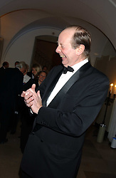SIR ARCHIE HAMILTON at a dinner attended by the Conservative leader Michael Howard and David Davis and David Cameron held at the Banqueting Hall, Whitehall, London on 29th November 2005.<br />