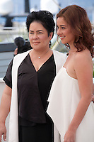 Actress, Jaclyn Jose, and Andi Eigenmann at the Ma'rosa film photo call at the 69th Cannes Film Festival Wednesday 18th May 2016, Cannes, France. Photography: Doreen Kennedy