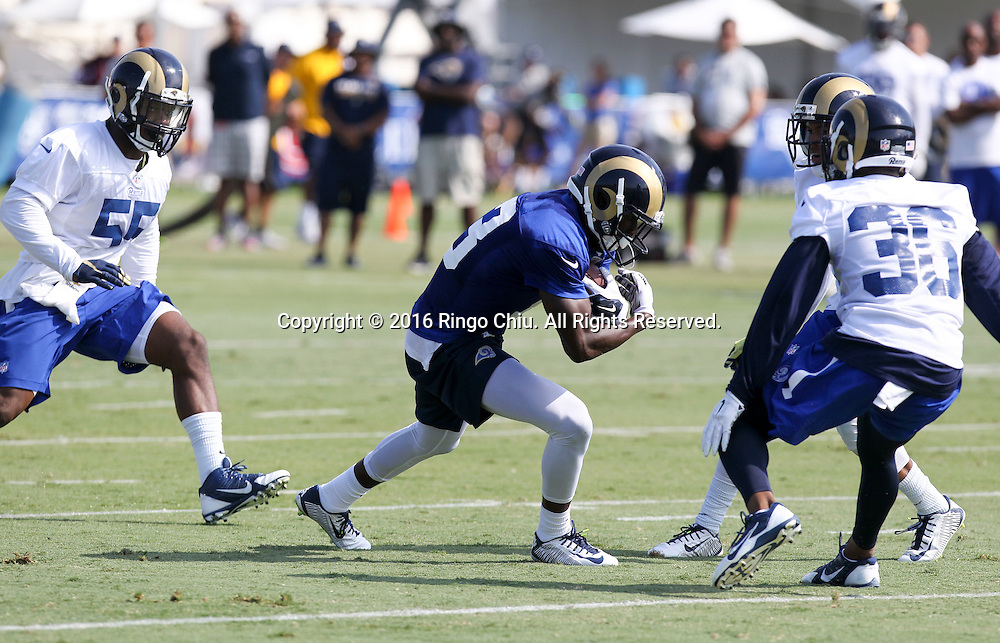 Los Angeles Rams practice at UC Irvine campus.(Photo by Ringo Chiu/PHOTOFORMULA.com)<br /> <br /> Usage Notes: This content is intended for editorial use only. For other uses, additional clearances may be required.