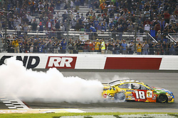September 22, 2018 - Richmond, Virginia, United States of America - Kyle Busch (18) wins the Federated Auto Parts 400 at Richmond Raceway in Richmond, Virginia. (Credit Image: © Chris Owens Asp Inc/ASP via ZUMA Wire)