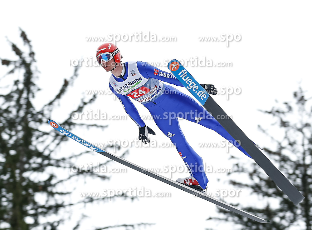 04.01.2014, Bergisel Schanze, Innsbruck, AUT, FIS Ski Sprung Weltcup, 62. Vierschanzentournee, Probesprung, im Bild Andreas Wank (GER) // Andreas Wank of Germany during Trial Jump of 62nd Four Hills Tournament of FIS Ski Jumping World Cup at the Bergisel Schanze, Innsbruck, Austria on 2014/01/04. EXPA Pictures © 2014, PhotoCredit: EXPA/ Peter Rinderer