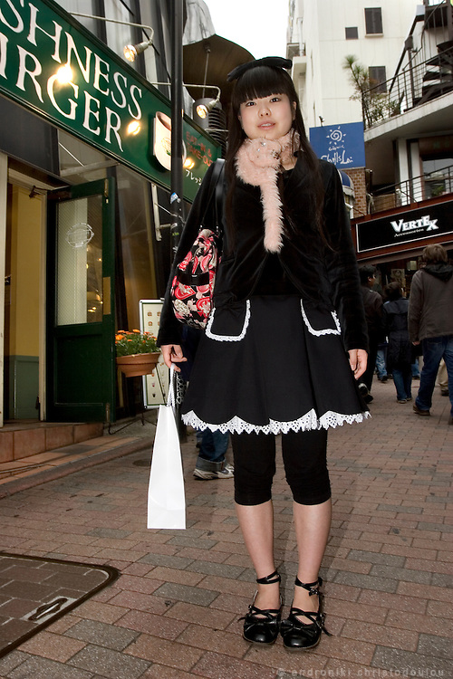 In Shibuya, Miki says that her fashion can not be categorized.
