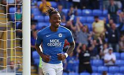 Ivan Toney of Peterborough United celebrates scoring his first goal of the game - Mandatory by-line: Joe Dent/JMP - 14/09/2019 - FOOTBALL - Weston Homes Stadium - Peterborough, England - Peterborough United v Rochdale - Sky Bet League One