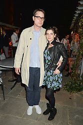 PICTURE SHOWS:-ADAM SMITH and MARTHA FREUD.<br /> Tuesday 14th April 2015 saw a host of London influencers and VIP faces gather together to celebrate the launch of The Ivy Chelsea Garden. Live entertainment was provided by jazz-trio The Blind Tigers, whilst guests enjoyed Moët & Chandon Champagne, alongside a series of delicious canapés created by the restaurant's Executive Chef, Sean Burbidge.<br /> The evening showcased The Ivy Chelsea Garden to two hundred VIPs and Chelsea<br /> residents, inviting guests to preview the restaurant and gardens which marry<br /> approachable sophistication and familiar luxury with an underlying feeling of glamour and theatre. The Ivy Chelsea Garden's interiors have been designed by Martin Brudnizki Design Studio, and cleverly combine vintage with luxury, resulting in a space that is both alluring and down-to-earth.