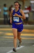Oct, 20, 2006; Walnut, CA, USA; Katie Fritzke of Mt. Shasta wins the girls Division V sweepstakes race in 19:00 over the 2.91-mile course in the 59th Mt. San Antonio College Cross Country Invitational.