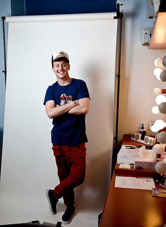 Matt Lee -Actor at the Capital Theatre.