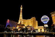 """US-LAS VEGAS: The Paris Hotel on Las Vegas Boulevard (""""The Strip""""). PHOTO GERRIT DE HEUS"""