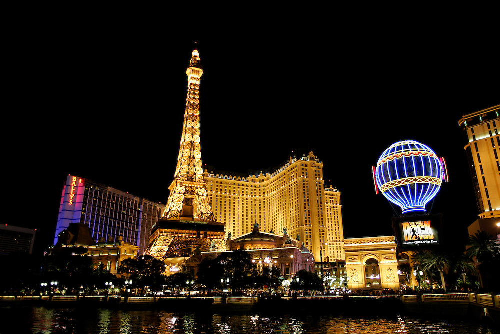 "US-LAS VEGAS: The Paris Hotel on Las Vegas Boulevard (""The Strip""). PHOTO GERRIT DE HEUS"