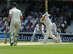 July 28, 2017 - London, England, United Kingdom - England's Jonny Bairstow .during the International Test Match Series Day Two match between England and South Africa at  The Kia Oval Ground in London on July 28, 2017  (Credit Image: © Kieran Galvin/NurPhoto via ZUMA Press)