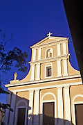Image of the Cathedral of San Juan Bautista in Old San Juan, Puerto Rico
