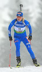 Mari Laukkanen (FIN) at Women 15 km Individual at E.ON Ruhrgas IBU World Cup Biathlon in Hochfilzen (replacement Pokljuka), on December 18, 2008, in Hochfilzen, Austria. (Photo by Vid Ponikvar / Sportida)