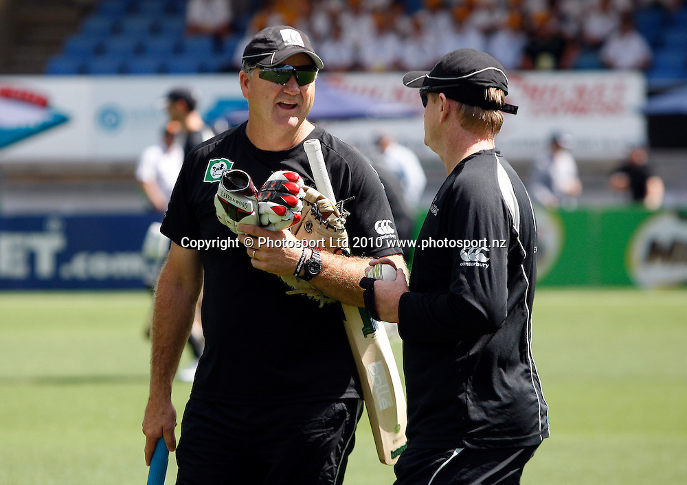 New Zealand coach Mark Greatbatch.<br />