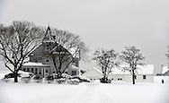 Today's snow made for tough travel and road conditions, but the snow that blanketed Long Island Feb. 13, 2014 also created a natural beauty. This scene is on Old East Neck Road in Melville. © Audrey C. Tiernan