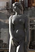 Fontana Pretoria (Fountain of Pretoria, Pretoria Fountain), 1552 - 1555, by Florentine sculptor Francesco Camilliani (1530 - 1586), Palermo, Sicily, Italy. Picture by Manuel Cohen