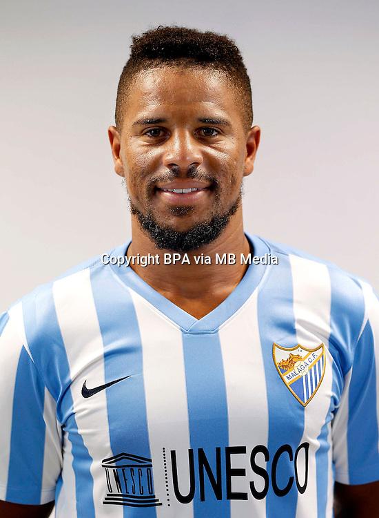 Spain - La Liga BBVA  2014-2015 / <br /> ( Malaga C.F. ) - <br /> Eliseu Pereira dos Santos
