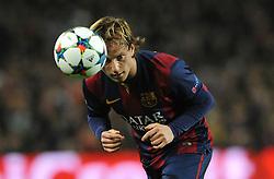 Barcelona's goalscorer Ivan Rakitic - Photo mandatory by-line: Dougie Allward/JMP - Mobile: 07966 386802 - 18/03/2015 - SPORT - Football - Barcelona - Nou Camp - Barcelona v Manchester City - UEFA Champions League - Round 16 - Second Leg