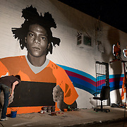 MIAMI, FLORIDA, NOVEMBER 2, 2015<br /> Street art in the Wynwood arts district in MIami, Florida two days before the official kickoff of Art Basel 2015. (Photo by Angel Valentin/Freelance)